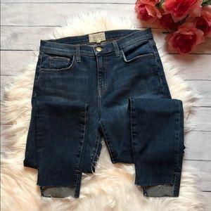Current/Elliot Stiletto Divina w/ Uneven Hem Jeans